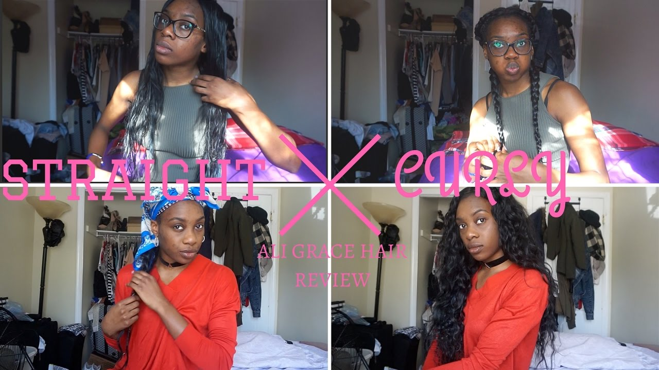 Straight To Curly Weave No Heat Youtube