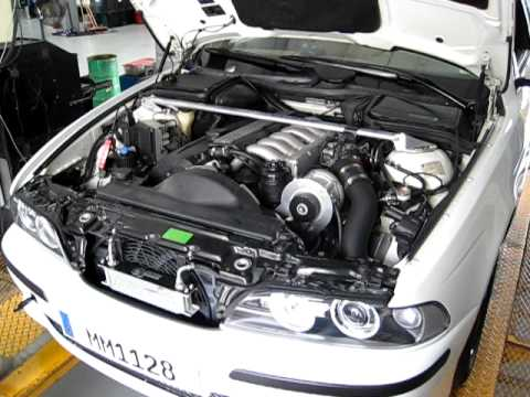 Bmw E39 97 528i Dyno Supercharged 6spd 5 Series Active