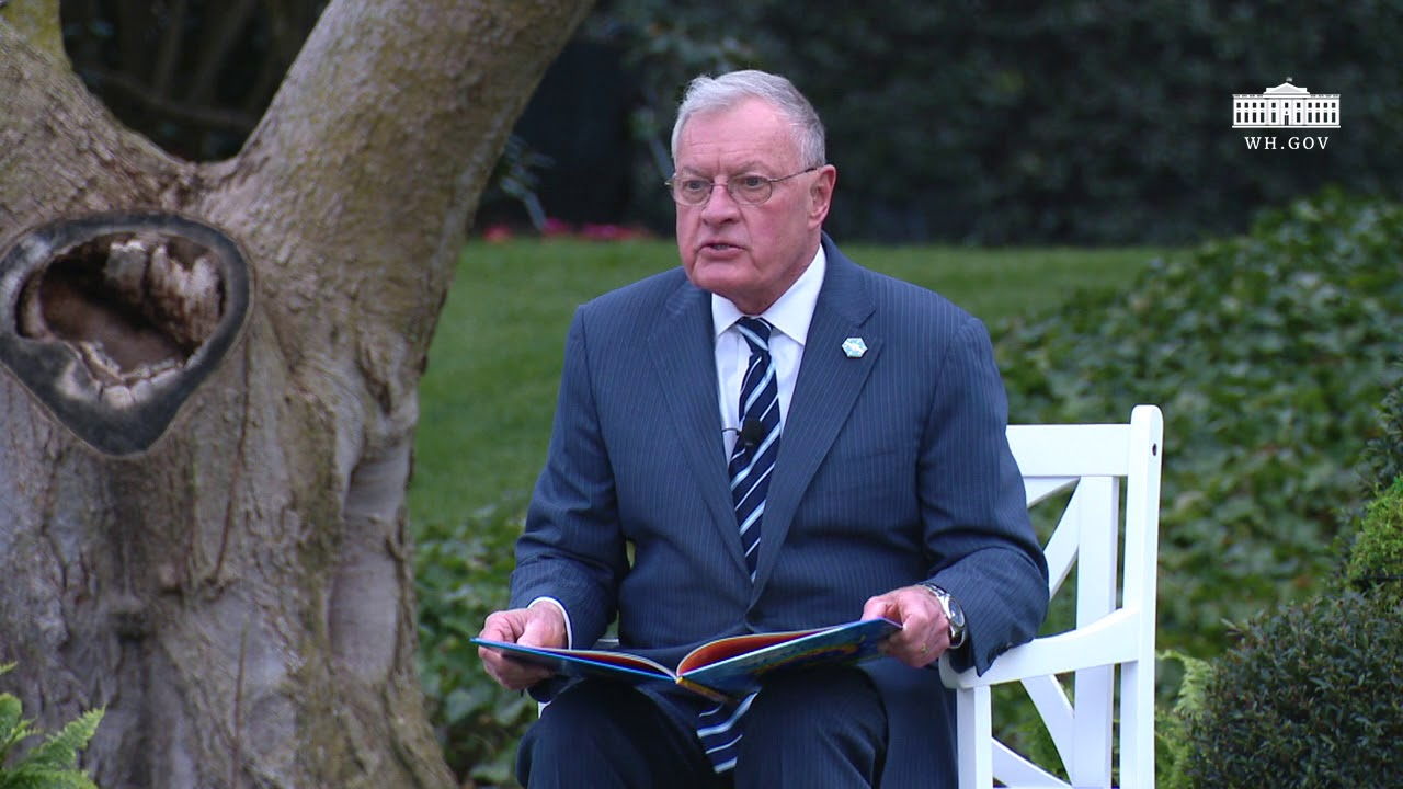 White House Easter Egg Roll: Reading Nook with General Joseph Keith Kellogg, Jr.