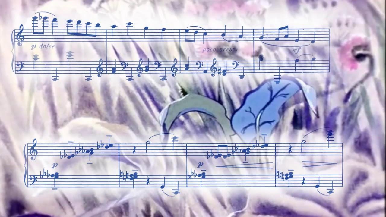 3 1 С Прокофьев 'Дождь и радуга' из цикла 'Детская музыка ...