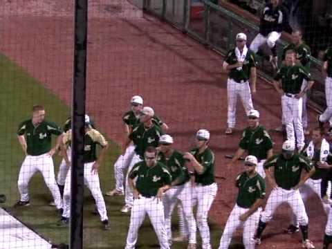 Dance Off USF vs Uconn 2009 Big East Baseball Tournament as seen on PTI. on ESPN