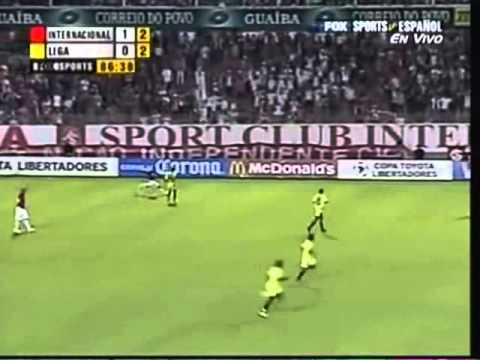 Internacional 2 x 0 LDU - Copa Libertadores 2006 - Quartas de Final - 2ª Jogo