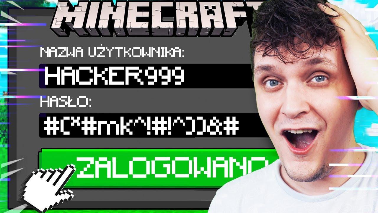 ZHAKOWAŁEM Konto Hackera W Minecraft! | Vito i Bella