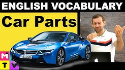 English Vocabulary with Pictures | Car parts