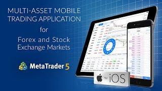 MetaTrader 5 for iPhone & iPad