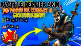 "HOW TO HAVE THE ""LAST SKIN OF SAISON 6"" FREE ON FORTNITE! [TUTO]"