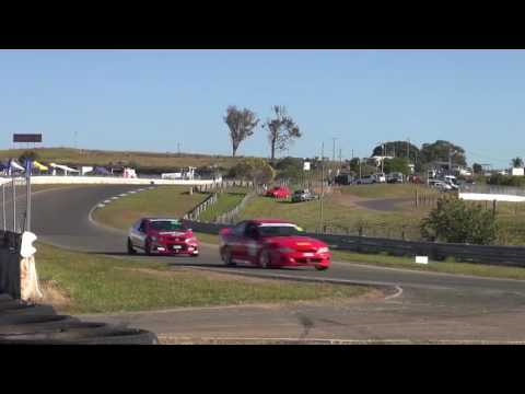 NSW Production Touring Cars 2017 - Lakeside Park Qld - June 4th Round 3