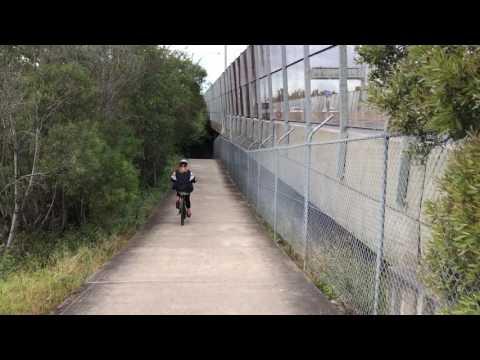 Bike Ride Marsh Street Sydney Airport to Brighton
