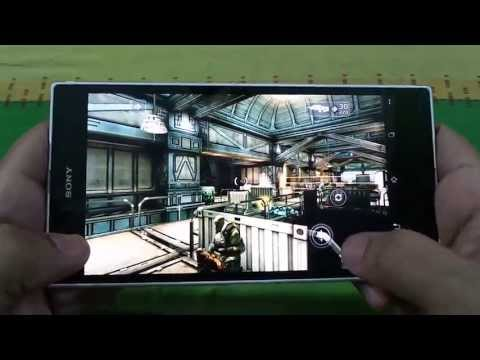 BEST GRAPHICS GAMES ON XPERIA Z ULTRA GAMEPLAY 2