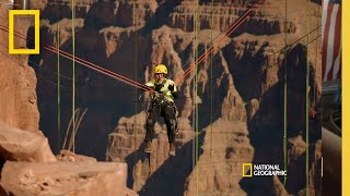 Cleaning The Grand Canyon Skywalk  | Breaking Bobby Bones