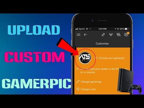 How To Get a Custom Gamerpic on Xbox One - YouTube