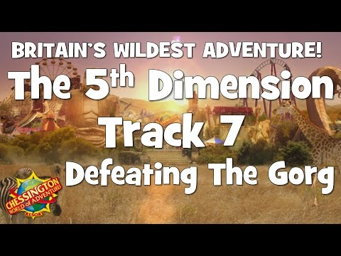 Chessington WoA - The 5th Dimension Track 7 (Defeating The Gorg) - 30 Minute Loop