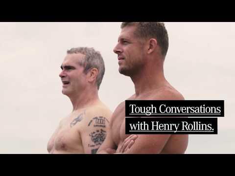Mick Fanning & Henry Rollins