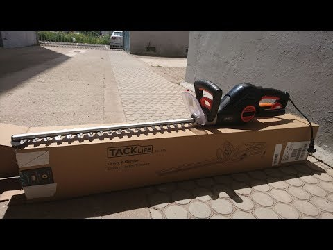 Review: Tacklife Cortasetos Electrico 600W 55cm