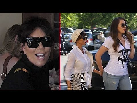 Kris Jenner Asked To Confirm Kim Kardashian's Baby's Name, Shops With Khloe And Kourtney