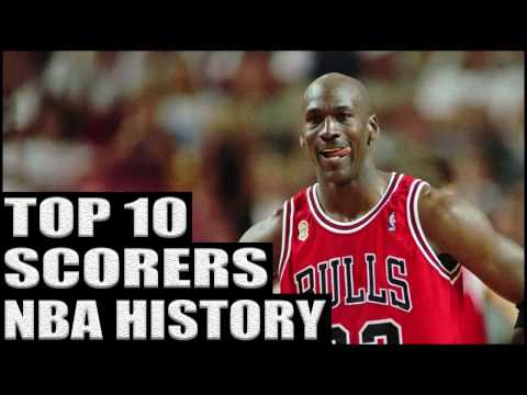 Top 10 NBA Scorers of All Time