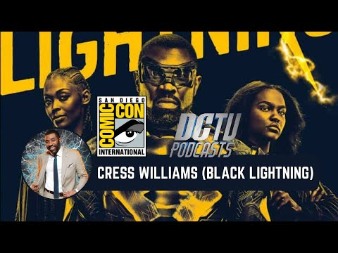 Black Lightning Round Table ComicCon 2017: Cress Williams  DCTV Podcasts
