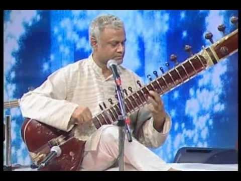 Sitar plays Christian Song ' All To Jesus I Surrender'. Sanjeeb Sircar.