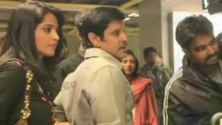 Siva Thandavam Movie Making - Vikram, Anushka Shetty, Amy Jackson, Jagapathi Babu