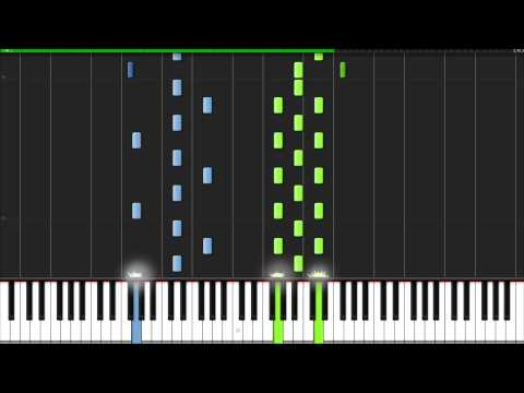 Adagio In D Minor  John Murphy Piano Tutorial Synthesia