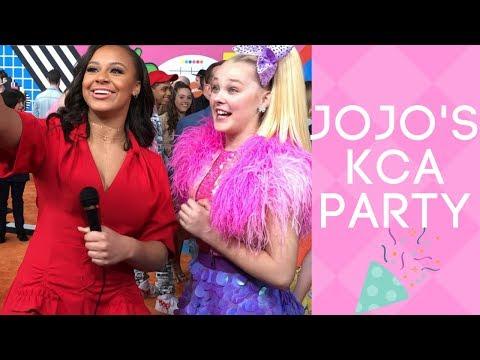 JOJO SIWA'S KCA PARTY | Nia Sioux