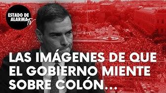 Imagen del video: Las imágenes que demuestran que el Gobierno de Sánchez miente sobre la afluencia a Colón