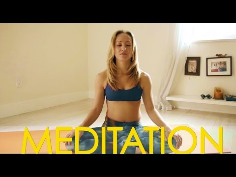 Ten Minute Meditation to Calm the Mind, Practice with Kino Yoga