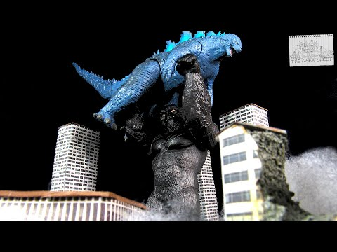 Playmates Godzilla Vs Kong (2021) Giant King Kong - Large Kaiju Titan Figure Review - Spoilers!