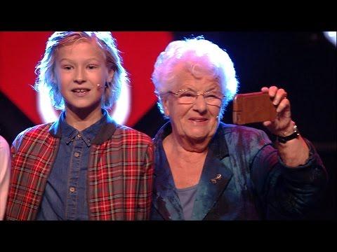 Mijn oma die vlogt (met Oma Miep) - Live in Concert 2016 - Kinderen voor Kinderen