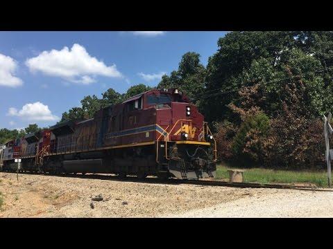 Arkansas & Missouri Monett Turn & BNSF In Monett, MO!!!!!! 600 Sub Special P.1 8/10/16