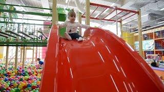 VLOG Детский развлекательный центр Скай парк горки батуты entertaiment center