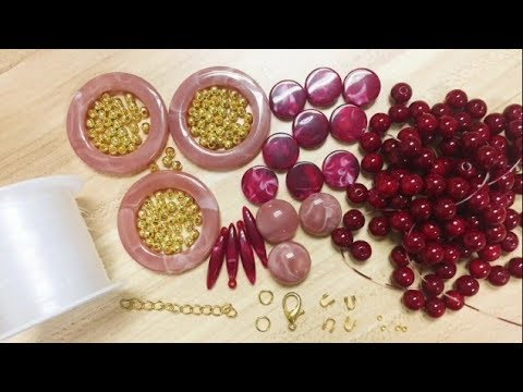 DoreenBeads Jewelry Making Tutorial - How to Make Marble Effect Acrylic Beaded Layering Necklace