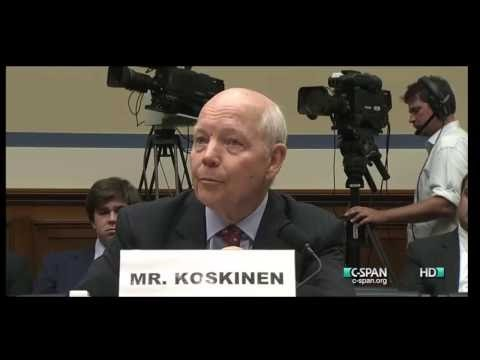 Trey Gowdy vs Irs Commissioner John Koskinen 7/23/14 Irs Hearing