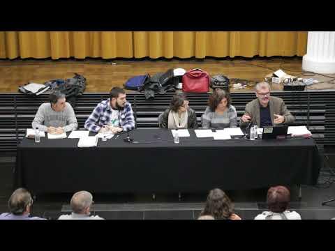 Consell de barri de la Font d'en Fargues 8 de novembre 2017