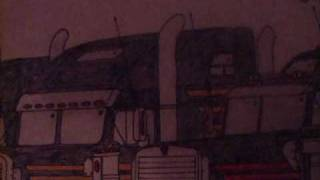 Kenworth Freightliner Peterbilt Drawing
