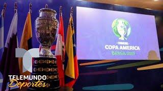 Los detalles del sorteo de la Copa América 2019 | Telemundo Deportes