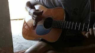"""Guitar bolero """"vung la me bay""""(le quyen ca le)"""