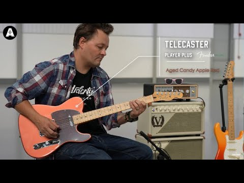 NEW Fender Player Plus Telecaster - Playing Only Demo!