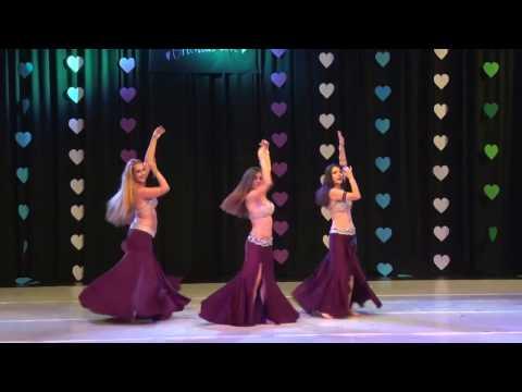 Almas group  1st place, Oriental Love 2016