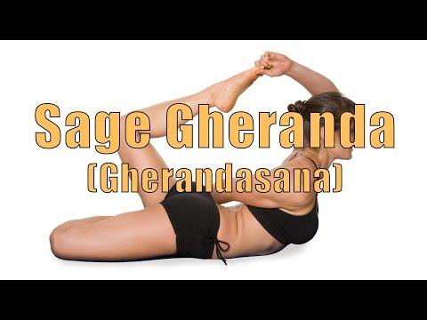 Hatha Yoga Sage Gheranda Pose (Gherandasana)