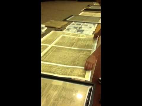 Declaration & Constitution Hidden Treasures Found In IL.