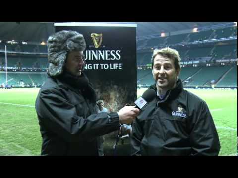England v South Africa: Post match Guinness pundit Andy Gomarsall