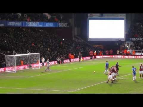 Frank Lampard's 3 penalties for Chelsea against West Ham United (2009)