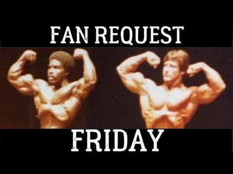 Robby Robinson Vs Frank Zane (1978 Mr.Olympia)