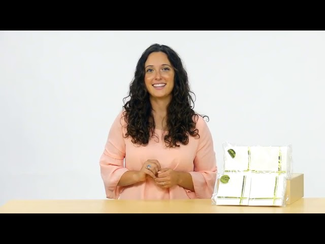 Product Video - Cocktail Napkins GOLD⠀