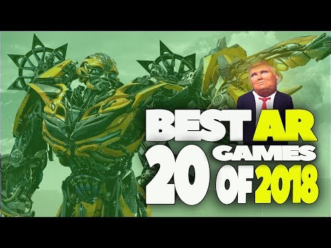 20 BEST AUGMENTED REALITY GAMES OF 2018 | TOP IOS & ANDROID AR APP'S