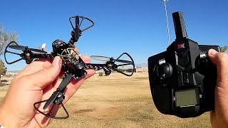 XK X130-T Micro FPV Sport Drone Flight Test Review