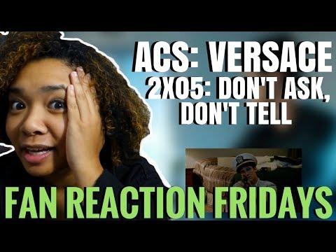"ACS: Versace Season 2 Episode 5: ""Don't Ask, Don't Tell"" Reaction & Review | Fan Reaction Fridays"