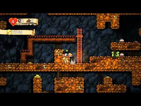 Spelunky PC Gameplay