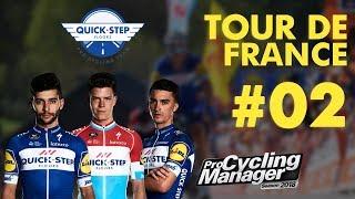 PRO CYCLING MANAGER 2018 | TOUR DE FRANCE 2018 | ETAPE 2 : Mouilleron-St-Germain › La Roche-sur-Yon